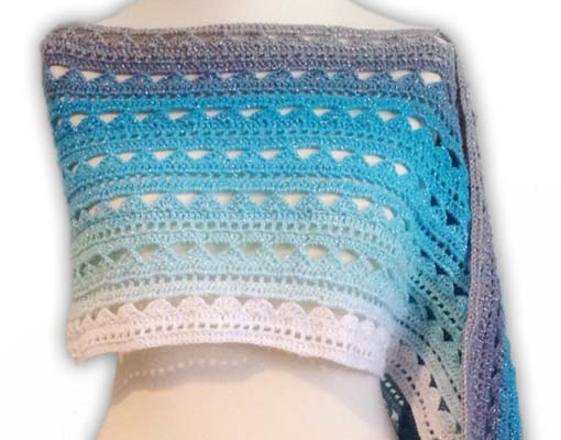 halata scarf crochet pattern