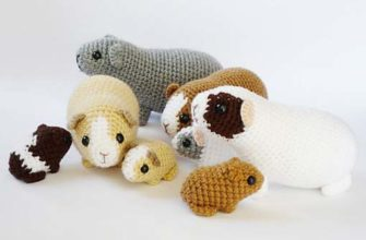 Ravelry: Ferrets pattern by Chiwaluv Amigurumi Critters | 220x335