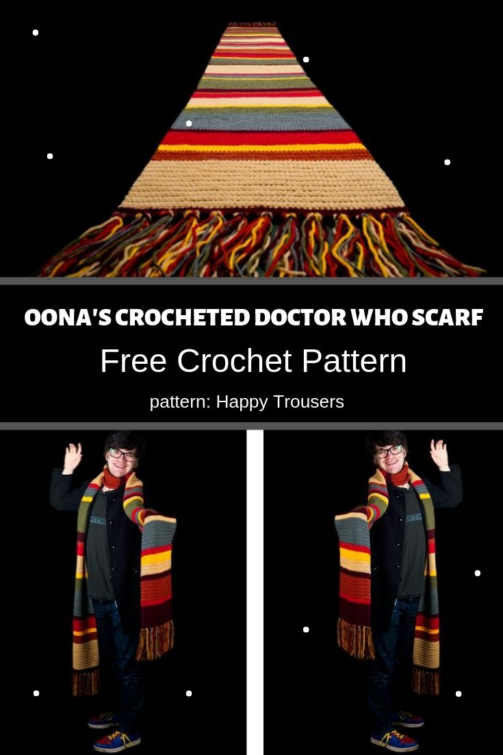 oonas crocheted doctor who scarf photo