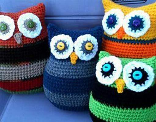 owl pillows photo