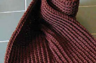 ribbed scarf photo