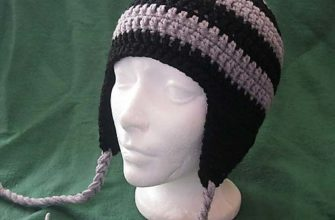simple earflap hat photo