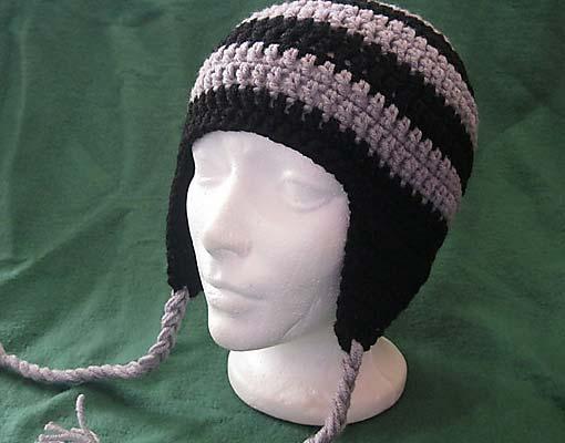 simple earflap hat photo