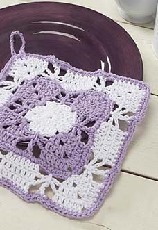 snapdragon dishcloth photo