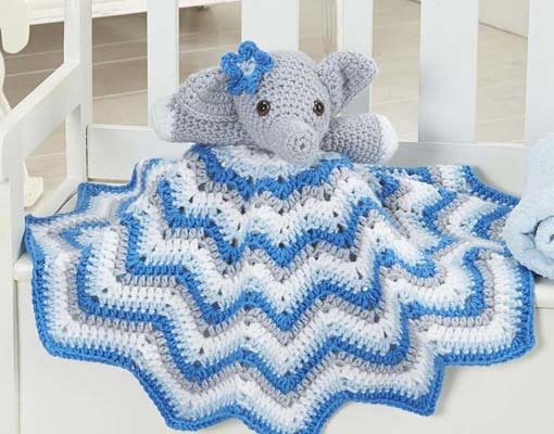stella lovey blanket crochet pattern photo