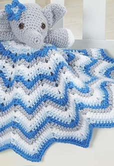 stella lovey blanket crochet pattern-preview