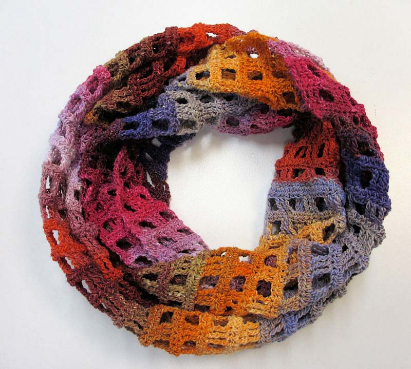 windowpane scarf - photo