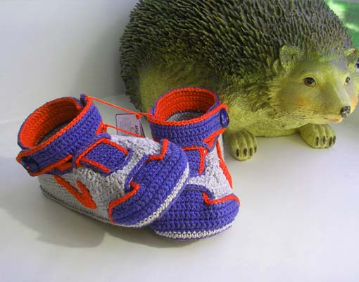 winged baby sneakers photo