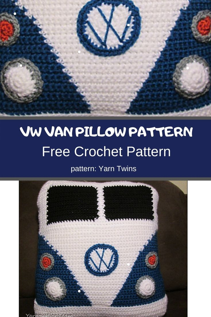 VW Van Pillow