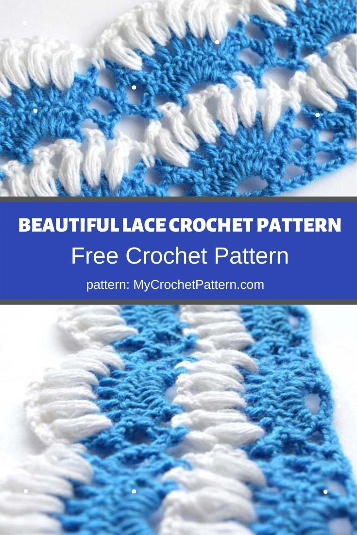 beautiful lace crochet pattern