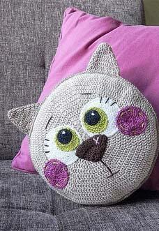 Amigurumi Pattern for Glamour Pussycat. Crochet Lady Kitten ... | 331x228